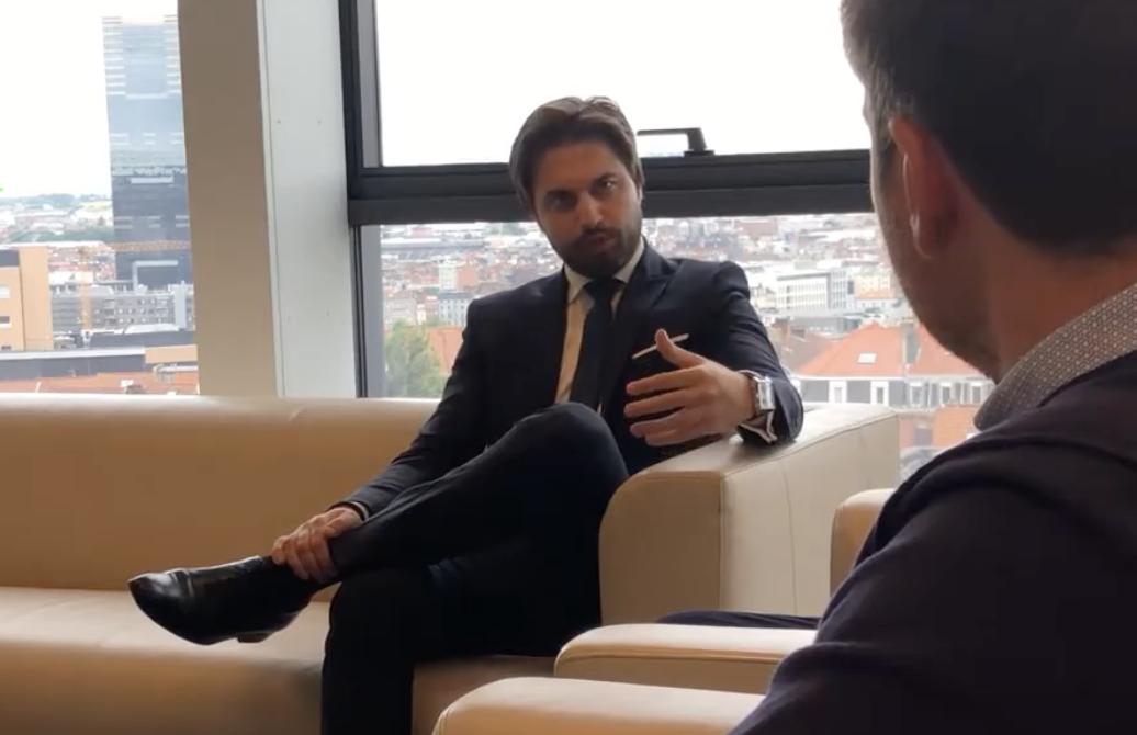 Interview: Georges-Louis Bouchez - De Liberale Wereld