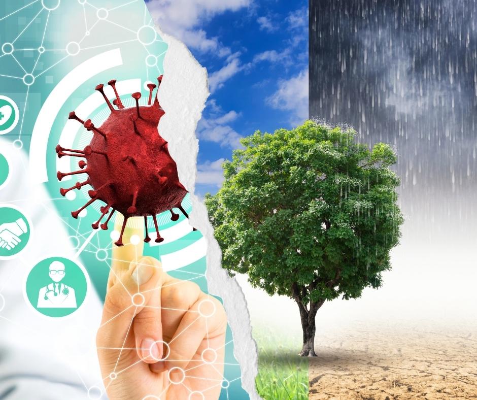Lessen uit covid-19 voor klimaatsverandering